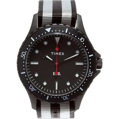 エンド END. メンズ 腕時計 x Timex Navi XL Watch Black
