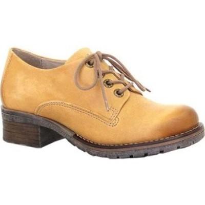ドロミダリス Dromedaris レディース ローファー・オックスフォード シューズ・靴 Kaley Lug Sole Oxford Ocre Leather