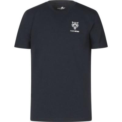 プレイン スポーツ PLEIN SPORT メンズ Tシャツ トップス t-shirt Dark blue