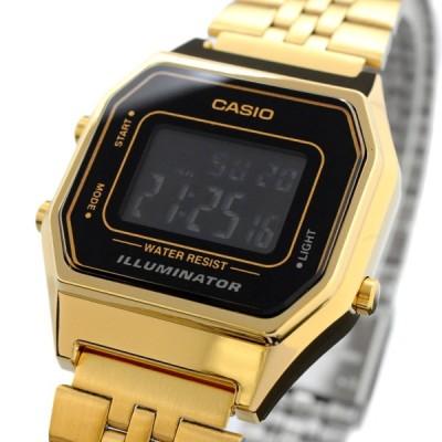 送料無料 腕時計 CASIO カシオ 海外モデル LA680WGA-1B チープカシオ デジタル レディース