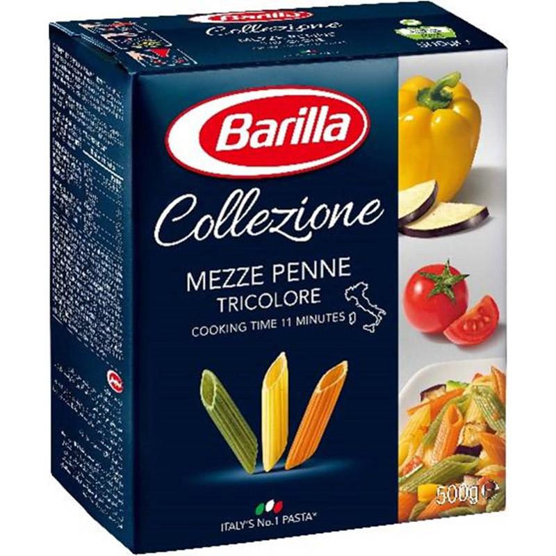 百味來義大利三色筆管麵500g