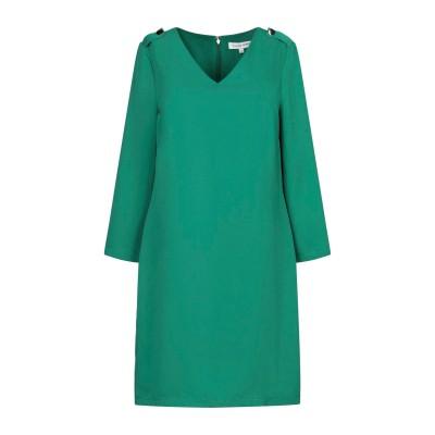 シルビアンヒーチ SILVIAN HEACH ミニワンピース&ドレス エメラルドグリーン XXS ポリエステル 100% ミニワンピース&ドレス