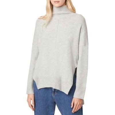 フレンチコネクション レディース ニット&セーター アウター River Vhari Turtleneck Sweater LT GREY