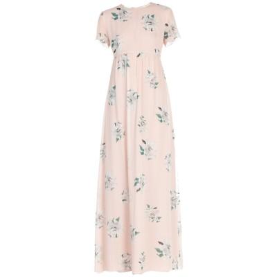 ドンダップ DONDUP ロングワンピース&ドレス ライトピンク 44 シルク 100% ロングワンピース&ドレス