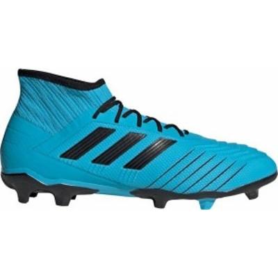 アディダス メンズ スニーカー シューズ adidas Men's Predator 19.2 FG Soccer Cleats Blue/Black