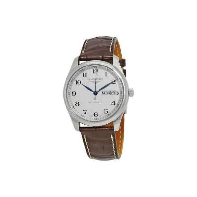腕時計 ロンジン メンズ Longines Master Collection Silver Dial Men's Watch L27554783