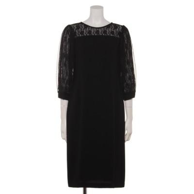 Weaver (ウィーバー) レディース 【Je super】チュールボリュームスリーブドレス ブラック M