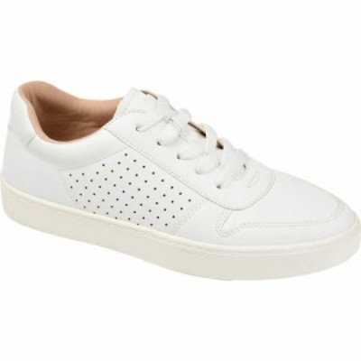 ジュルネ コレクション Journee Collection レディース スニーカー シューズ・靴 Comfort Foam(TM) Elle Sneaker White