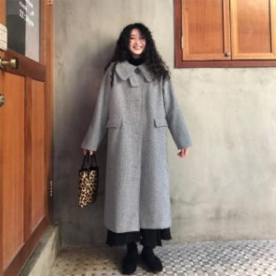 ロングコート 超ロングコート 大きいサイズ 冬 冬服 アウター マキシ丈 ロングチェスター チェスター ロングコート コート