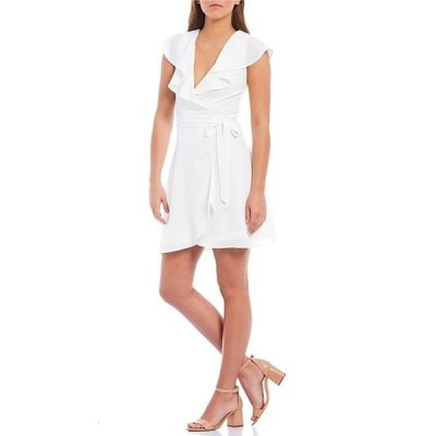 ジービー レディース ワンピース トップス Wrap Front Dress