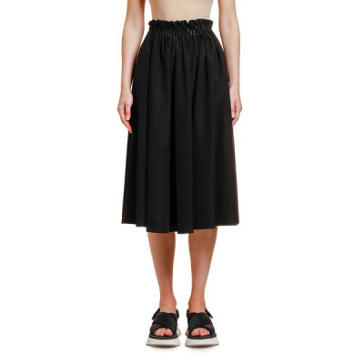 マルニ レディース スカート ボトムス Cotton Poplin Midi Skirt