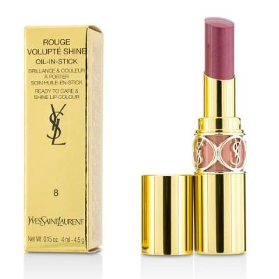 イヴサンローラン リップスティック Yves Saint Laurent 口紅 ルージュ ヴォリュプテ シャイン #8 Pink In Confidence/ Blouson 3.2g