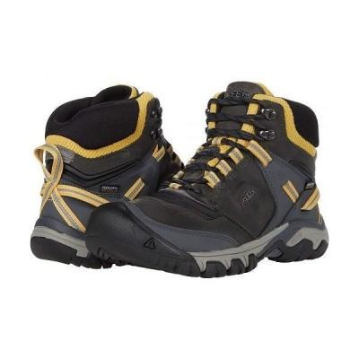 Keen キーン レディース 女性用 シューズ 靴 ブーツ ハイキング トレッキング Ridge Flex Mid WP - Magnet/Ochre