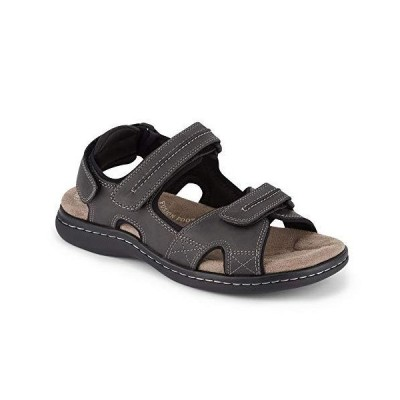 Dockers Mens Newpage Outdoor Sport Sandal Shoe, Grey, 14 M