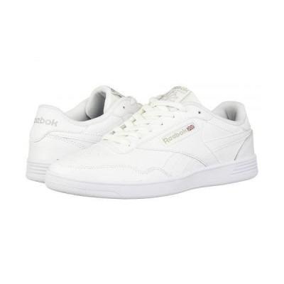 Reebok リーボック メンズ 男性用 シューズ 靴 スニーカー 運動靴 Club Memt - White/Steel/White