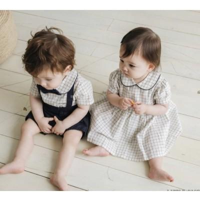 子ども服 ベビー服 韓国子ども服 ロンパース 可愛い ワンピース 80 90 人気 女の子 男の子 出産祝い キッズ おしゃれ プレゼント キッズ服