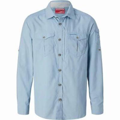 クラッグホッパーズ シャツ NosiLife Adventure LS Shirt Fogle Blue