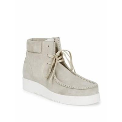 カルバンクライン メンズ シューズ ブーツ Leather Chukka Boots
