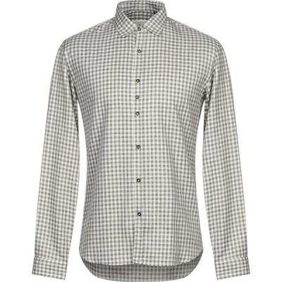 コストメイン COSTUMEIN メンズ シャツ トップス Checked Shirt Grey