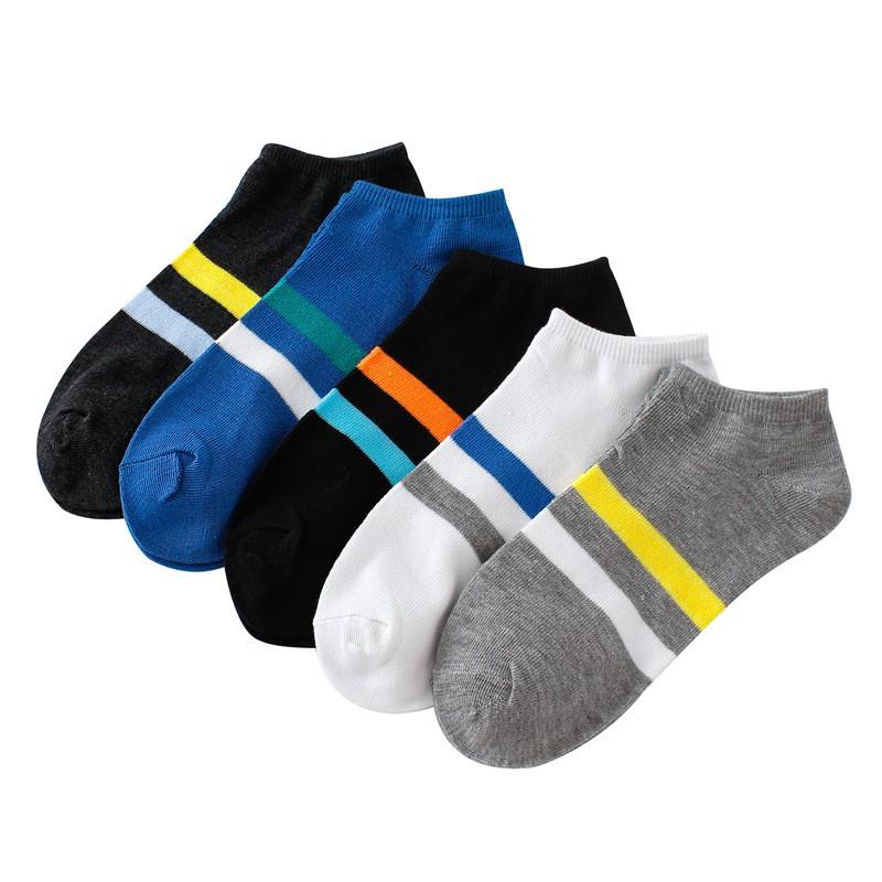 大唐襪業 D110襪子批發時尚薄短款通用船襪 兩條槓夏季運動休閒襪子秒殺