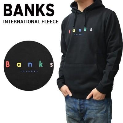 BANKS JOURNAL バンクス ジャーナル INTERNATIONAL FLEECE HOODIE プルオーバー パーカー フリース スウェット WFL0136