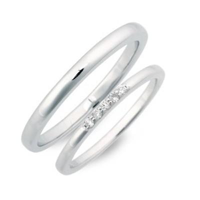 ペアリング 男性 女性 ブランド リング 指輪 ペア LOVERS SCENE シルバー ダイヤモンド 4月の誕生石 誕生日プレゼント ギフト カップル