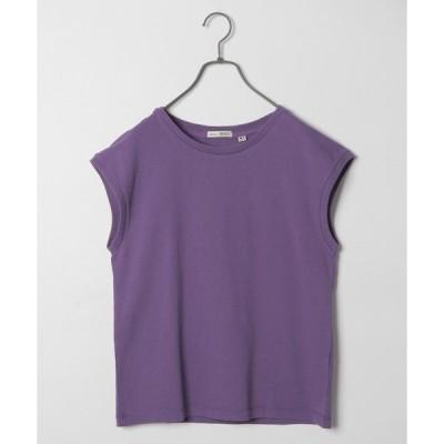 tシャツ Tシャツ USAコットンミニフレンチ袖プルオーバー
