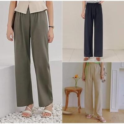 common unique レディース パンツ Wide Leg Pull-On Pants