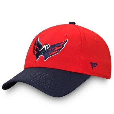 ファナティクス ブランデッド レディース 帽子 アクセサリー Washington Capitals Fanatics Branded Women's Iconic Defender Adjustable Hat