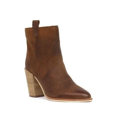 クレボ レディース ブーツ&レインブーツ シューズ Varga Western Leather Boot CHESTNUT