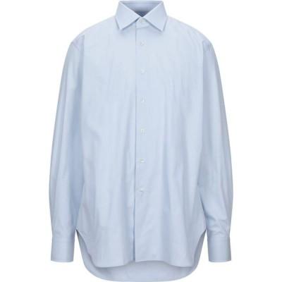 アイサルティ I SARTI メンズ シャツ トップス Solid Color Shirt Sky blue