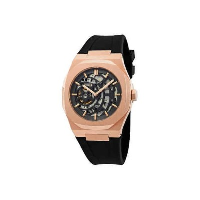 腕時計 ディーワンミラノ メンズ D1 Milano P701 Skeleton Dial Automatic Men's Watch SKRJ03