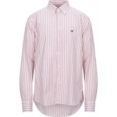 ヘンリーコットンズ HENRY COTTON'S メンズ シャツ トップス Striped Shirt Pink