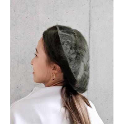 WEST CLIMB / Per sist ence/パーシエンス アンゴラベレー WOMEN 帽子 > ハンチング/ベレー帽