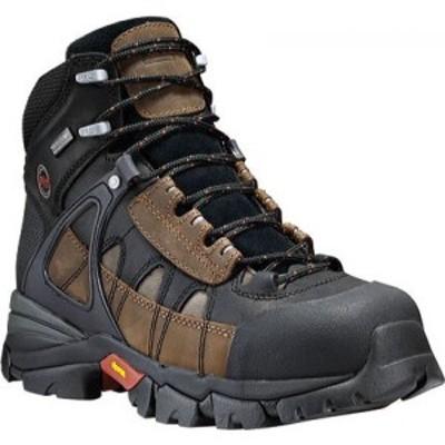 ティンバーランド Timberland PRO メンズ ブーツ シューズ・靴 Hyperion Waterproof XL Alloy Safety Toe Brown All Leather