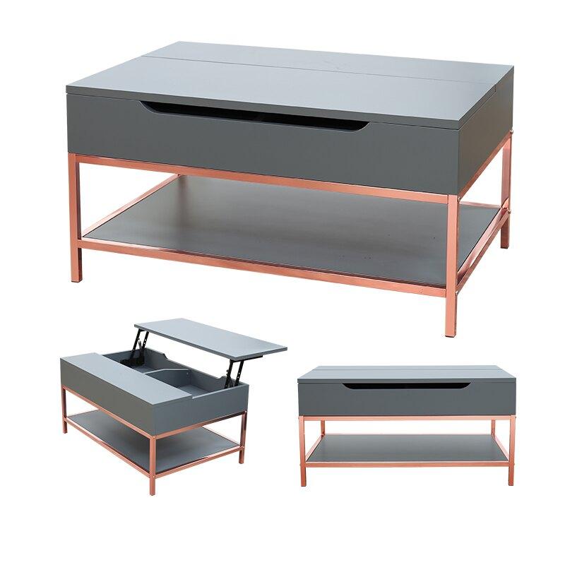 桌板可升降茶几桌 上掀咖啡桌 茶几桌 小餐桌 工作桌  MIT台灣製 |宅貨