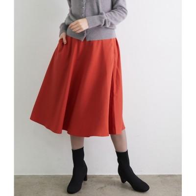【ロペピクニック/ROPE' PICNIC】 プレミアムフィールフレアスカート