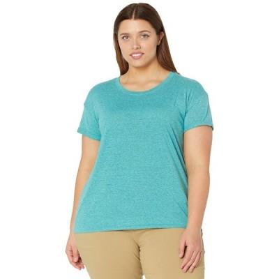 プラーナ シャツ トップス レディース Plus Size Cozy Up T-Shirt Azurite Heather
