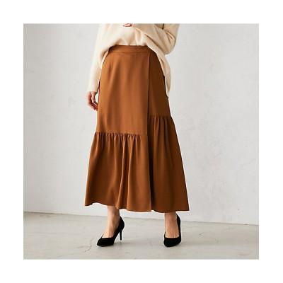<COMME CA ISM(Women)/コムサ イズム> ティアード ラップ風スカート(1250FR06) 16【三越伊勢丹/公式】