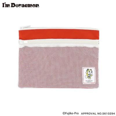 ポーチ 小物収納 小物入れ 小銭入れ 化粧ポーチ I'm Doraemon ドラミちゃん DR-G0017-RD レッド 雑貨 かわいい 人気 おしゃれ