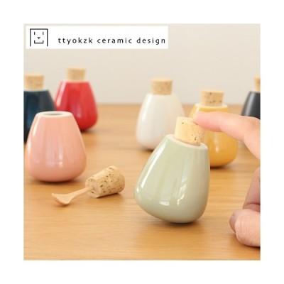 スパイスケース 調味料入れ タツヤオカザキ セラミックデザイン スウィング swing ttyokzk ceramic design 卓上 食卓 岡崎達也 日本製