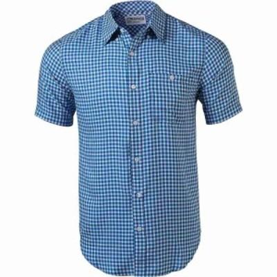 マウンテンカーキス Mountain Khakis メンズ シャツ トップス Passport EC SS Shirt Indigo