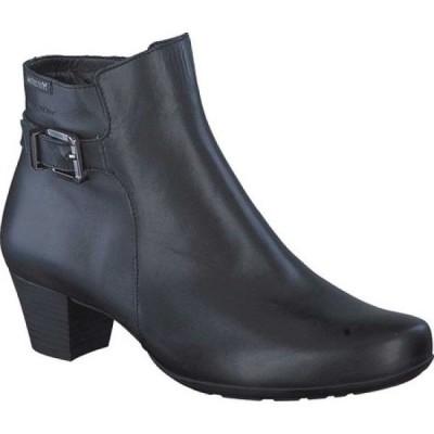 メフィスト Mephisto レディース ブーツ ショートブーツ シューズ・靴 Marilia Ankle Bootie Black Cigalia Smooth Leather