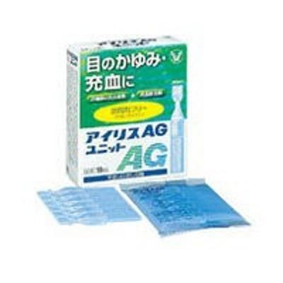 【第2類医薬品】【大正製薬】アイリスAGユニット 18本入り ☆☆ ※お取り寄せの場合あり