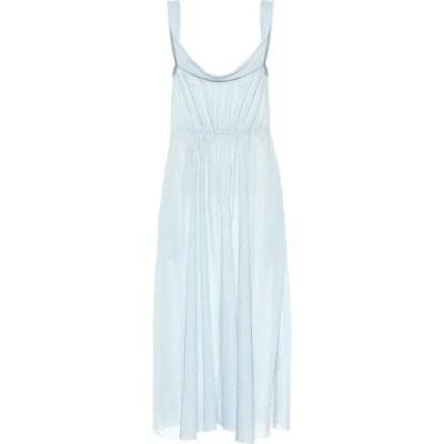 ブロック コレクション Brock Collection レディース ワンピース ミドル丈 ワンピース・ドレス davi gingham cotton midi dress Open White