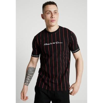 キングズ ウィル ドリーム Tシャツ メンズ トップス CLIFTON - Print T-shirt - black/red