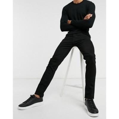 セレクテッドオム メンズ デニムパンツ ボトムス Selected Homme skinny jeans organic cotton black