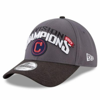 New Era ニュー エラ スポーツ用品  New Era Cleveland Indians Graphite 2017 AL Central Division Champions 9FORTY Adjustable Hat
