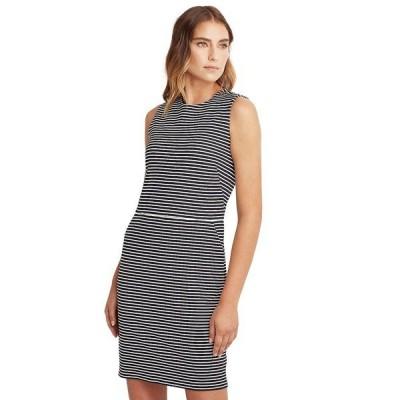 ラルフローレン ワンピース トップス レディース Striped Ponte Dress Lauren Navy/pale Cream