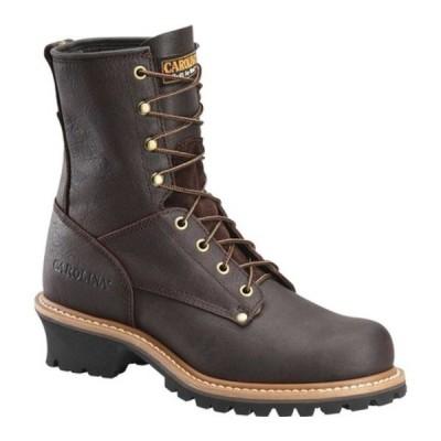 """カロリーナ ブーツ&レインブーツ シューズ メンズ 8"""" Plain Toe Logger 821 (Men's) Briar Leather"""